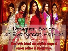 Designer sarees will not only accentuate your beauty but also drag everyone's attention for you whenever you drape designer sarees, so buy sarees online http://www.dessiattire.com/ and look WOW. #sareesonline #sarees #buysareesonline #designersarees