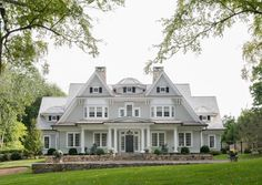 'New Canaan shingle.' Michael Smith Architects, South Norwalk, CT.