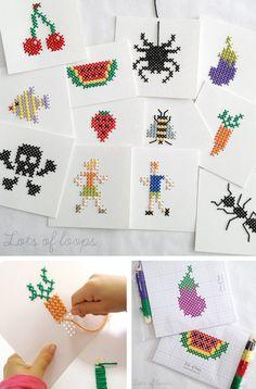 Entretener a los niños en un restaurante, cafetería, sala de espera... sin maquinitas http://www.minimoda.es
