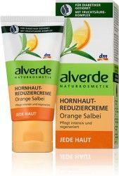 Alverde - Hornhauthautreduziercreme Orange Salbei