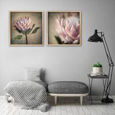 Protea Still - Square Art prints, set 1 Framed Canvas Prints, Canvas Frame, Canvas Wall Art, Wall Art Prints, Botanical Decor, Botanical Wall Art, Botanical Prints, Art Prints For Home, Square Art