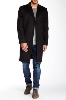 Nautica Solid Top Coat