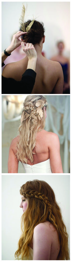 Pretty hairstyles...I love the organic look of braids!