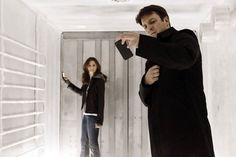 Season 3, Episode 17, 'Countdown' Castle & Becket are trapped in a refrigerator truck
