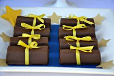 Blue and Yellow Graduation/End of School Party Ideas | Photo 9 of 19 | Catch My Party