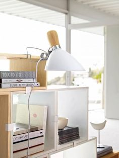David Weeks elevates the classic clip lamp with his new Pearson Clip Lamp for Design Within Reach.