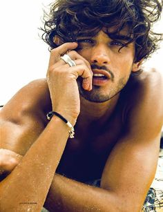 Fil-Am Lope Navo photographs supermodel Marlon Texeira (Way Models) for LOfficiel Hommes Korea (May 2013)