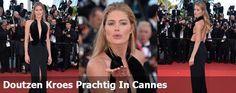 Doutzen Kroes Prachtig Op De Rode Loper In Cannes