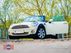 Mini Cabrio Silnik: 1.6 Moc: 120 KM Miejsc: 4 Skrzynia biegów: manualna Dodatki: xsenony, eletrycznie otwierany dach http://rentmini.pl/