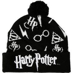 Harry Potter Symbols Pom Beanie Hot Topic