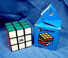 Rubik 02 Politoys Hungary 1980