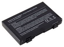 DENAQ - Lithium-Ion Battery for Select Asus Laptops - Black
