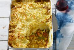 We're loving this easy-to-make, cheesy cottage bake that's an ideal weeknight family dinner.