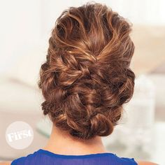 We love this gorgeous updo because it looks like it was done at a salon…but only takes minutes to do at home. The style's...