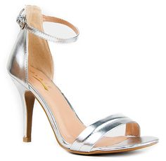 Amazon.com: Glaze WILLOW-2 Stiletto High Heel Ankle Strap Sandal: Shoes