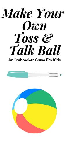 The toss and talk ball is a great ice breaker activity for people who are just getting to know one another. Here are some questions to get you started.