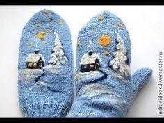 Вязаные Варежки - 2019 / Knitted Mittens / Strickhandschuhe / Guanti a maglia - Baby Mittens, Crochet Mittens, Mittens Pattern, Fingerless Mittens, Crochet Gloves, Knitting Socks, Baby Knitting, Loom Knitting, Free Knitting