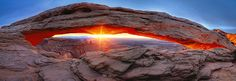 Peter Lik - Sacred Sunrise - NATURE - Landscapes - Silver - ONE EYELAND PHOTOGRAPHY AWARDS 2012