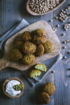 Real Food Recipes, Vegetarian Recipes, Tasty, Yummy Food, Vegan, Falafel, Frittata, Cooking Time, Street Food