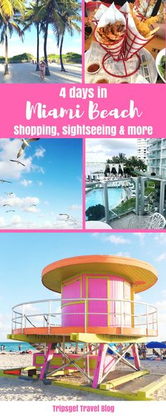 4 days in Miami Beach: from Sightseeing to Shopping. Food in Miami Beach. Sawgrass Mills