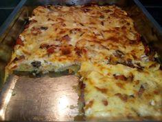 Πίτσα χωρίς ζυμάρι με πατάτα!! Cookbook Recipes, Cooking Recipes, Lasagna, Food And Drink, Pizza, Ethnic Recipes, Recipes, Chef Recipes, Lasagne