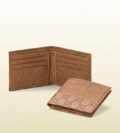 gucci wallet Gucci Fashion, Mens Fashion, Gucci Wallet, Cool Style, Card Holder, Shoulder Bag, Wallets, Brown, Bags