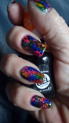 Mandy's nail, shop & DIY blog: COTM #5 l Multicolor