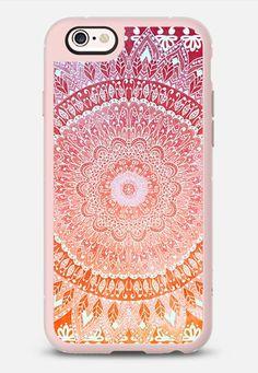 SPRING MANDALIKA iPhone 6s case by Nika Martinez | Casetify #casetify #mandala #bitone #orange #pink #bohemian #bohocase #bohochic #boho #indie #hippie #chic #iphone #iphone6 #cute #girly #fashion #cover #nikamartinez