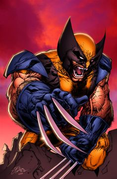 Wolverine - Art by Shelby Robertson & Color by Nathan Lumm