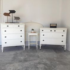 Bedroom Set update - Furniture Makeover - Chalk painted with Superior Paint Co. Robins Egg, Furniture Makeover, Chalk Paint, Burlap, Ivory, Colours, Bedroom, Painting, Home Decor