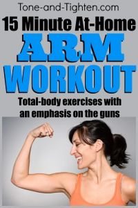 10 of the best upper body workouts you can do at home from Tone-and-Tighten.com