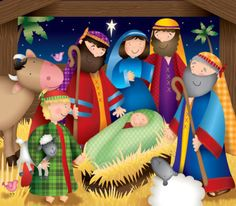 Our key principles are Fairness, Ability, Creativity, Trust and that's a F. Christmas Nativity, Christmas Paper, Diy Christmas Ornaments, Christmas Colors, All Things Christmas, Christmas Holidays, Holiday Wallpaper, Country Paintings, Christmas Printables