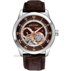 Mens Bulova BVA Automatic Watch 96A120