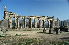 Traveler - Premium template for travel companies Volubilis, Archaeological Discoveries, Travel Companies, Ancient Civilizations, Best Vacations, Brooklyn Bridge, Discovery, Old Things, Scene
