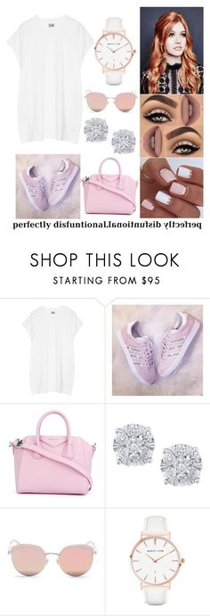 """""""#90"""" by mariangela06 ❤ liked on Polyvore featuring Oak, Lime Crime, Givenchy, Effy Jewelry, Stephane + Christian and Abbott Lyon"""