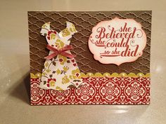 Dress Up by jsassy72 - Cards and Paper Crafts at Splitcoaststampers