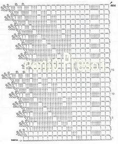 Home Decor Crochet Patterns Part 142 - Beautiful Crochet Patterns and Knitting Patterns Crochet Boarders, Crochet Edging Patterns, Filet Crochet Charts, Crochet Diagram, Crochet Motif, Crochet Designs, Crochet Doilies, Irish Crochet, Easy Crochet