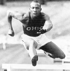 Olympic legend Jesse Owens gave a motivational speech at Alpine in 1961.