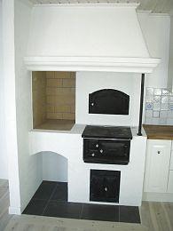 Bildresultat för kåpor över vedspis i kök