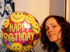 Geschenkballon zum Geburtstag