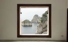 casa malaparte, framing nature II