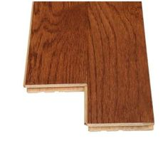 Bruce Oak Saddle 3/4 in. Thick x 3-1/4 in. Wide x Random Length Solid Hardwood Flooring (22 sq. ft. / case)-C1117 - The Home Depot