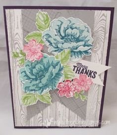 """Hello Friends  Love the Stippled Blossoms and this is a wow one. We had a stamping day a week or so ago here a """"Shoe Box Swap"""" what a sho..."""