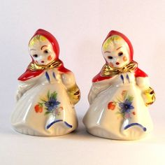 salt and pepper shakers collectibles | Vintage Hull Salt and Pepper Shakers by EllensAtticTreasures, $52.00