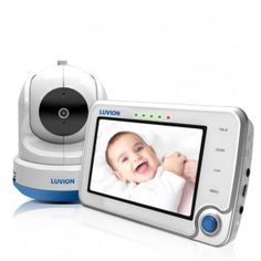 Luvion Supreme Connect Wifi 4.3 inch Video Baby Monitor - Safety Products for Baby Kids monitoring, #baby #videomonitoring #products