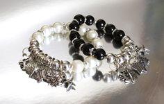 Pearl bead charm bracelets $2.99 at www.MyAccessoryBusiness.com