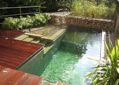 Yes, Eco-Friendly Backyard Pools Do Exist  Installing a backyard pool doesn't have to be at odds with your eco-conscious lifestyle. The green marketplace is doing more to meet the demands of consumers who enjoy the luxuries of life but don't want to sacrifice the environment to get them. Even the swimming pool industry is creating increasingly responsible products that help offset a pool's environmental impact.