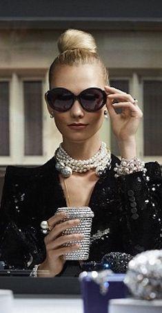 Karlie Kloss x Audrey Hepburn