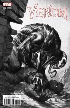 Marvel Comic Book Artwork • VENOM #4 7 Ate 9 Comics B&W Variant Cover By Gabriele Dell'Otto. Available to buy at our online store www.7ate9comics.com