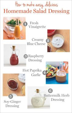 Save money by making your own DIY salad dressings at home! These recipes couldn't be easier (and cost just pennies per serving)